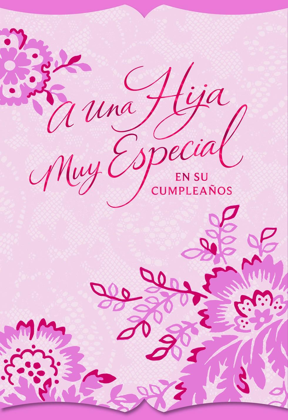 Decorative floral birthday card for daughter greeting cards hallmark decorative floral birthday card for daughter bookmarktalkfo Image collections