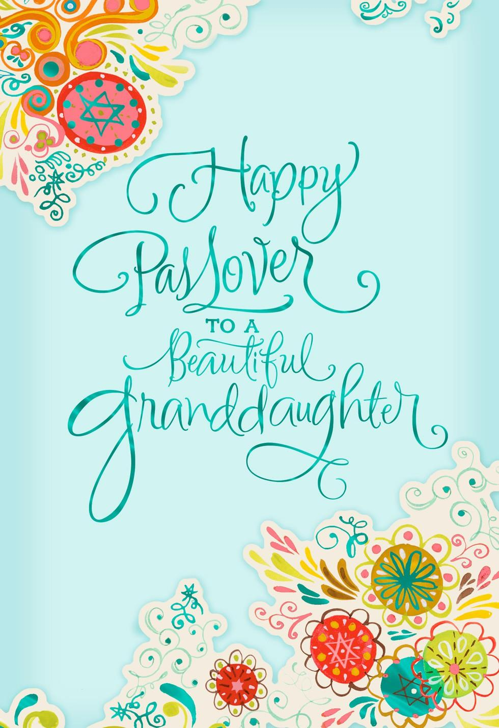 Beautiful granddaughter passover card greeting cards hallmark beautiful granddaughter passover card m4hsunfo