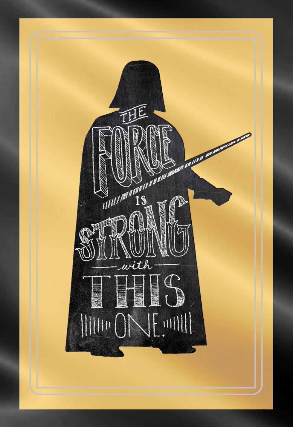Star Wars™ Darth Vader™ Graduation Card