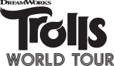 itty bittys® DreamWorks Animation Trolls World Tour Queen Barb Plush, , licensedLogo
