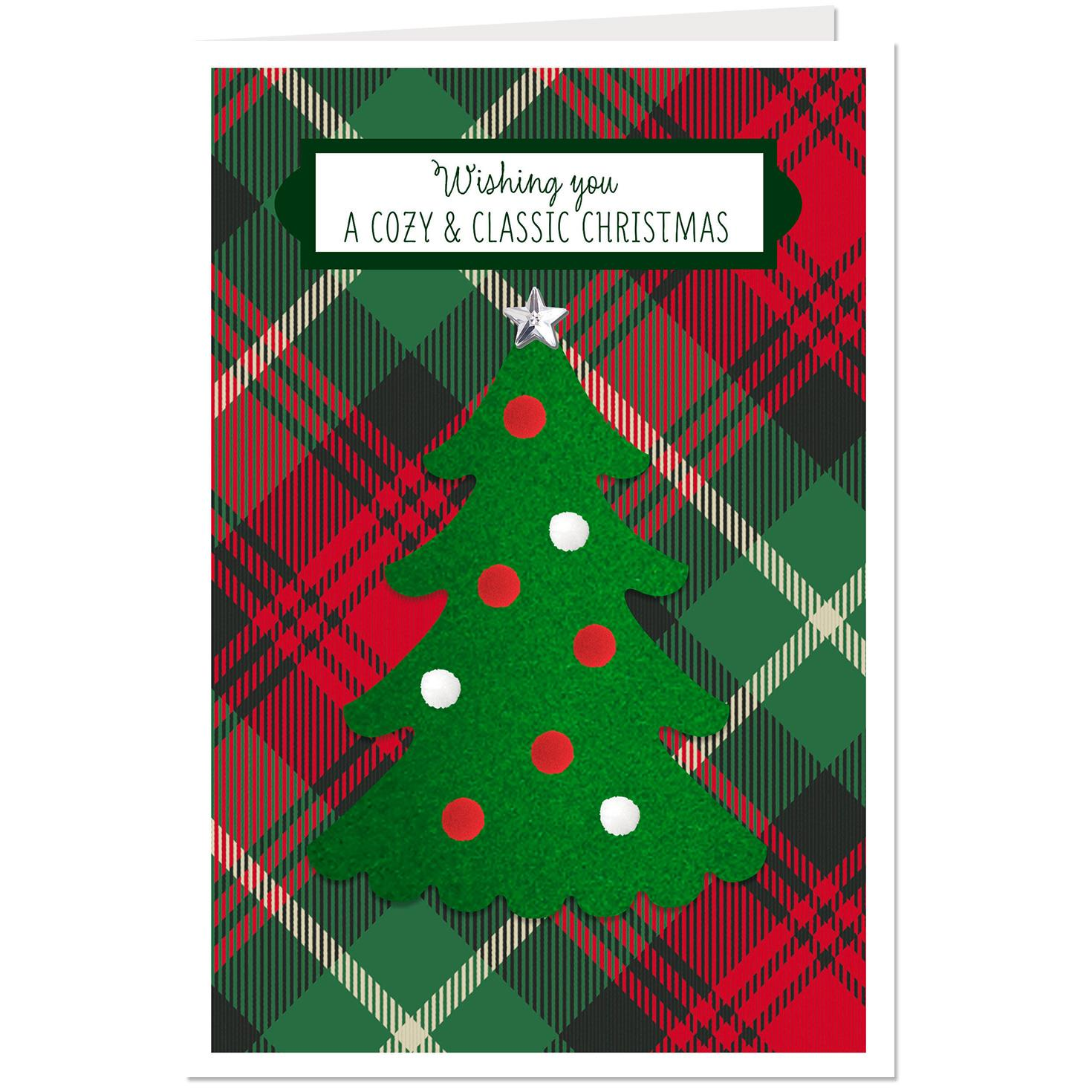 Cozy and classic christmas card greeting cards hallmark cozy and classic christmas card m4hsunfo