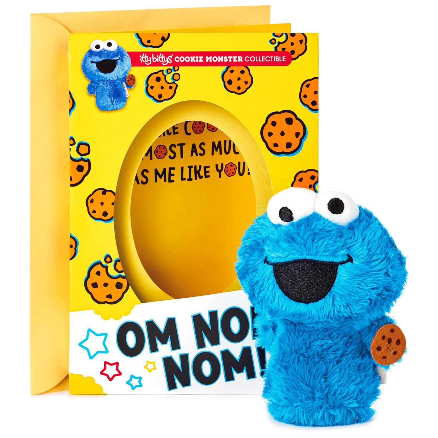 itty bittys® Sesame Street® Cookie Monster Birthday Card ...