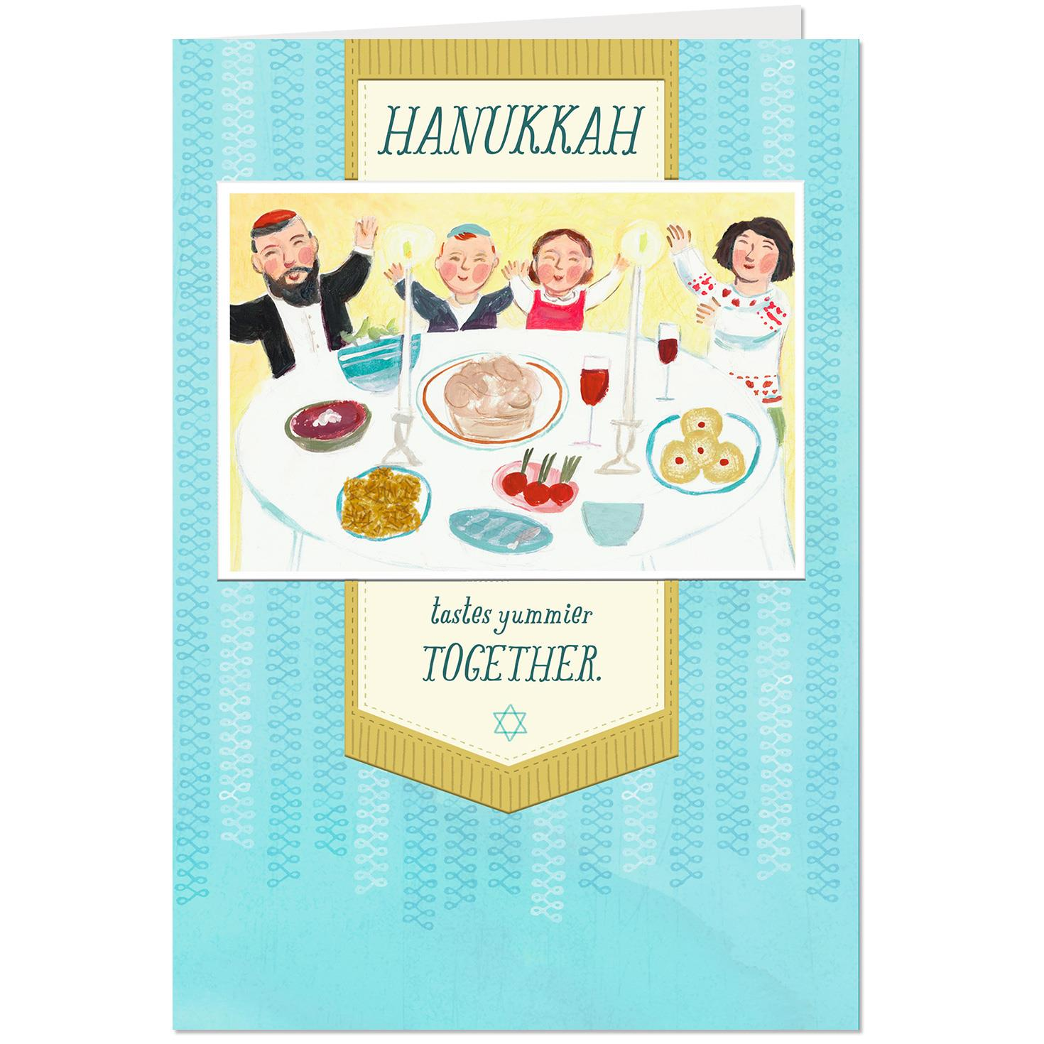 A Sweet Time for Family Hanukkah Card Greeting Cards Hallmark