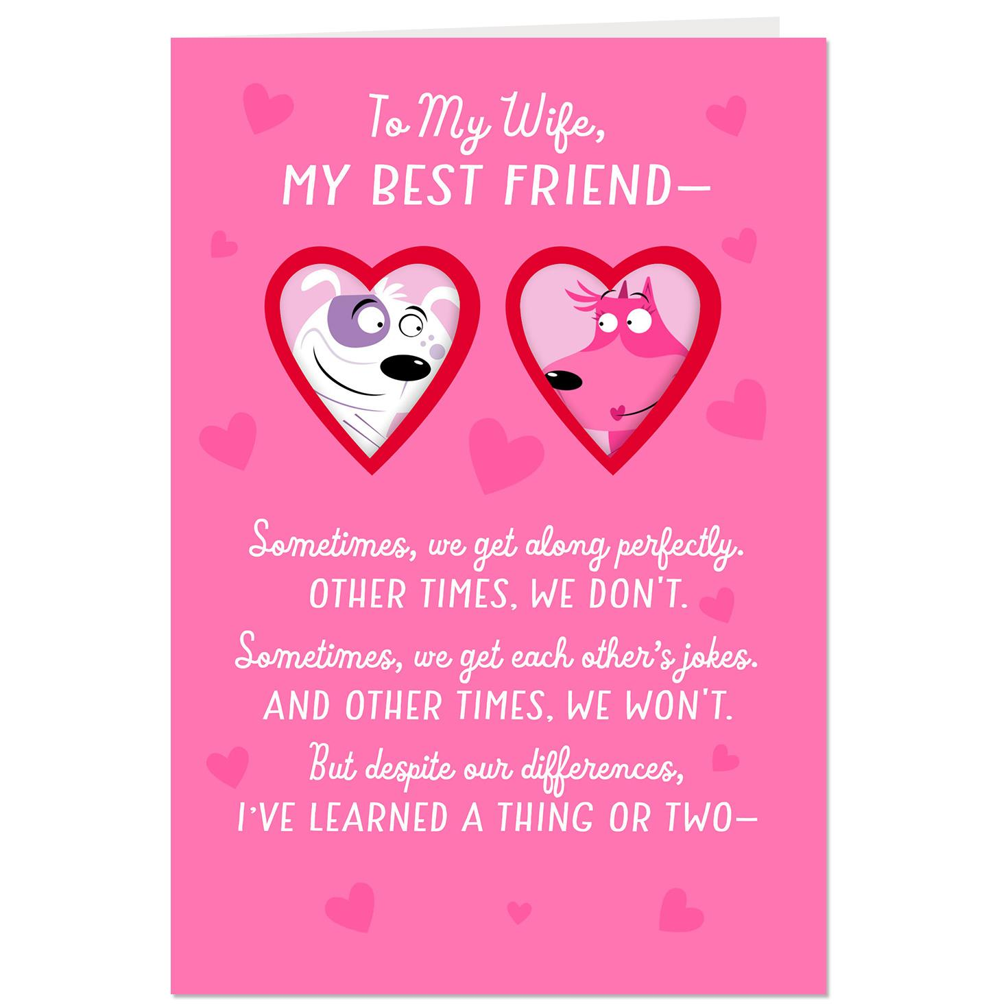 Puppy Love Valentines Day Card For Wife Greeting Cards Hallmark