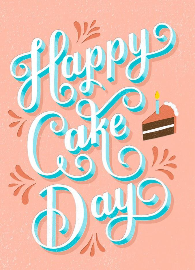 Happy Cake Day Birthday Card Greeting Cards Hallmark