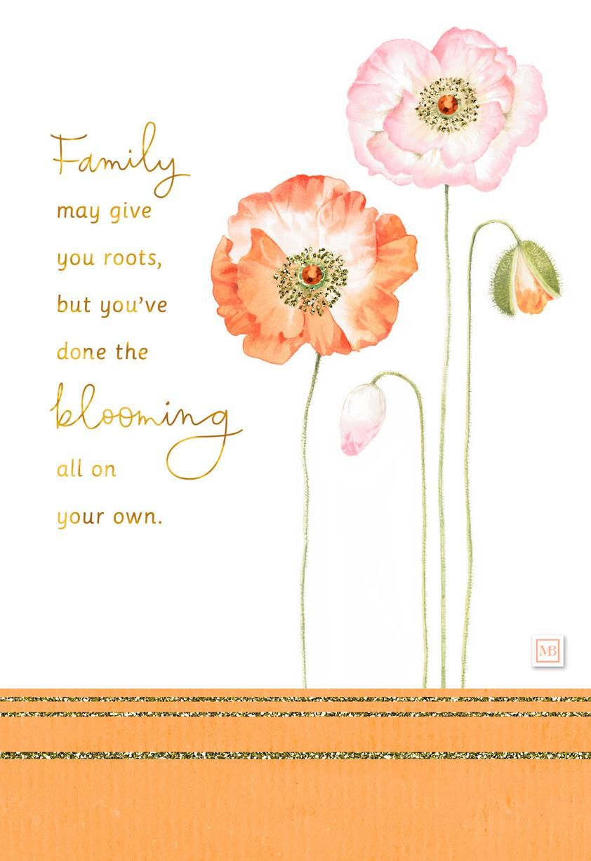 Youre A Beautiful Bloom Marjolein Bastin Birthday Card Greeting – A Beautiful Birthday Card