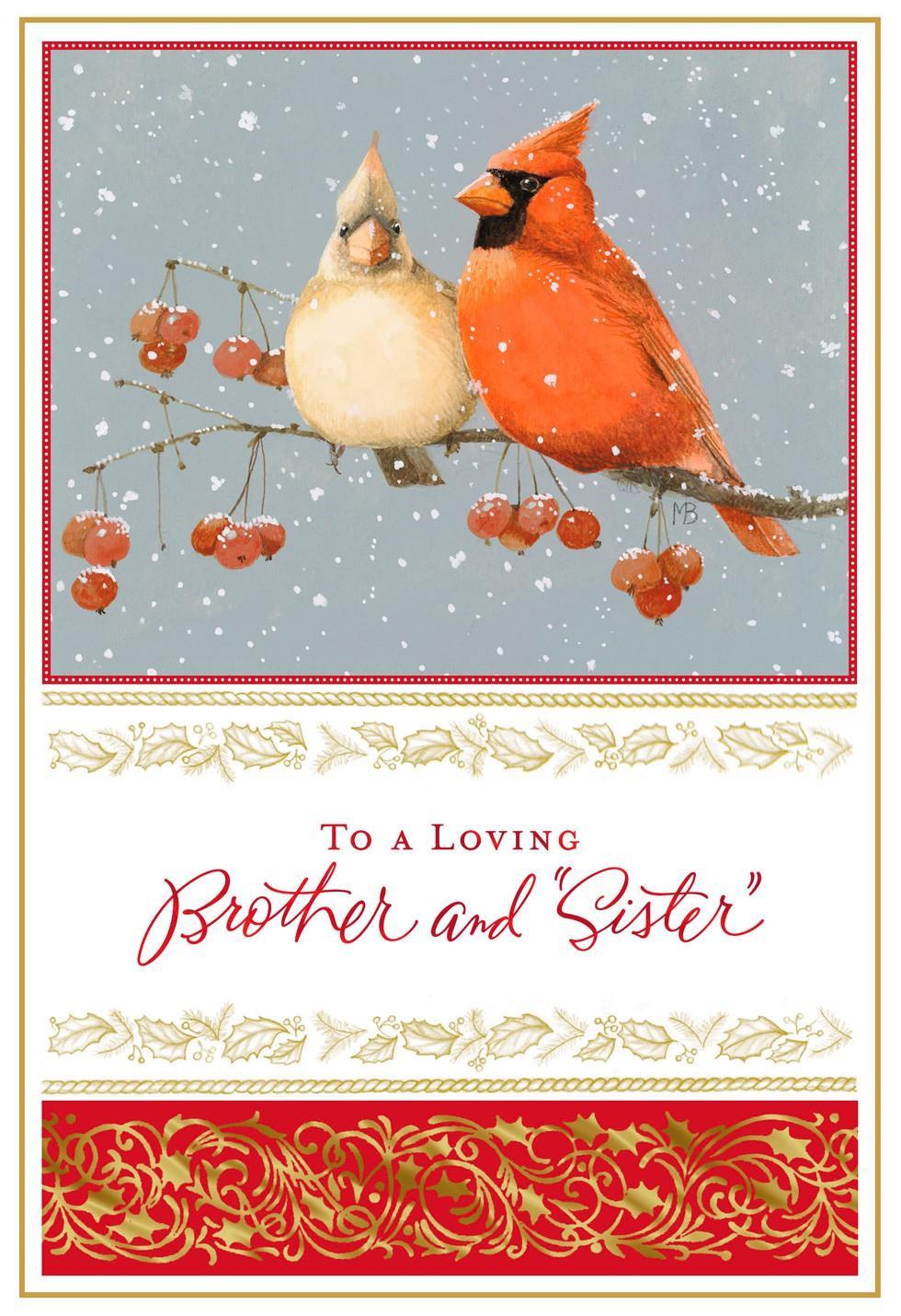 Marjolein bastin cardinals christmas card for brother and wife marjolein bastin cardinals christmas card for brother and wife kristyandbryce Choice Image