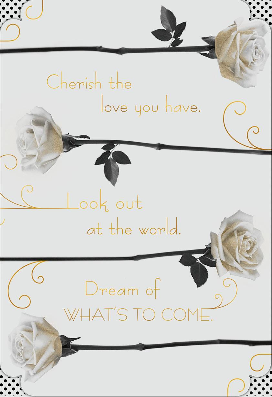 White Roses Anniversary Card - Greeting Cards - Hallmark