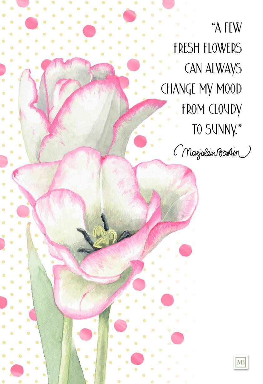 Fresh flower marjolein bastin friendship card greeting cards added to your cart m4hsunfo Images