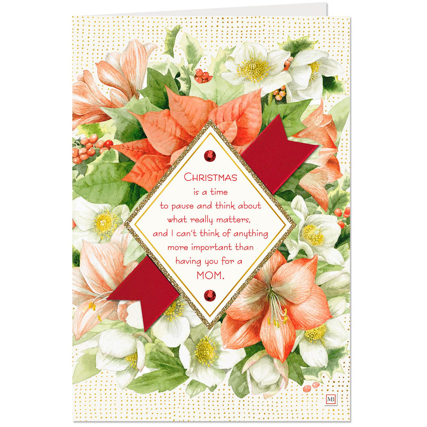 Marjolein bastin my grateful heart christmas card for mom greeting marjolein bastin my grateful heart christmas card for mom m4hsunfo