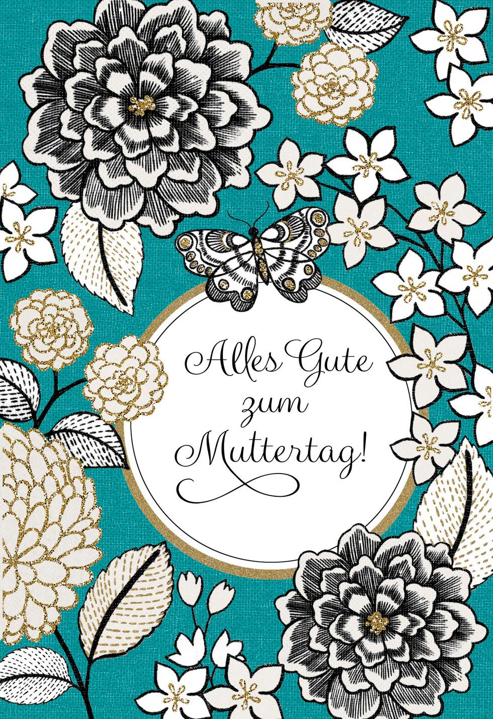German Language Mothers Day Card Greeting Cards Hallmark