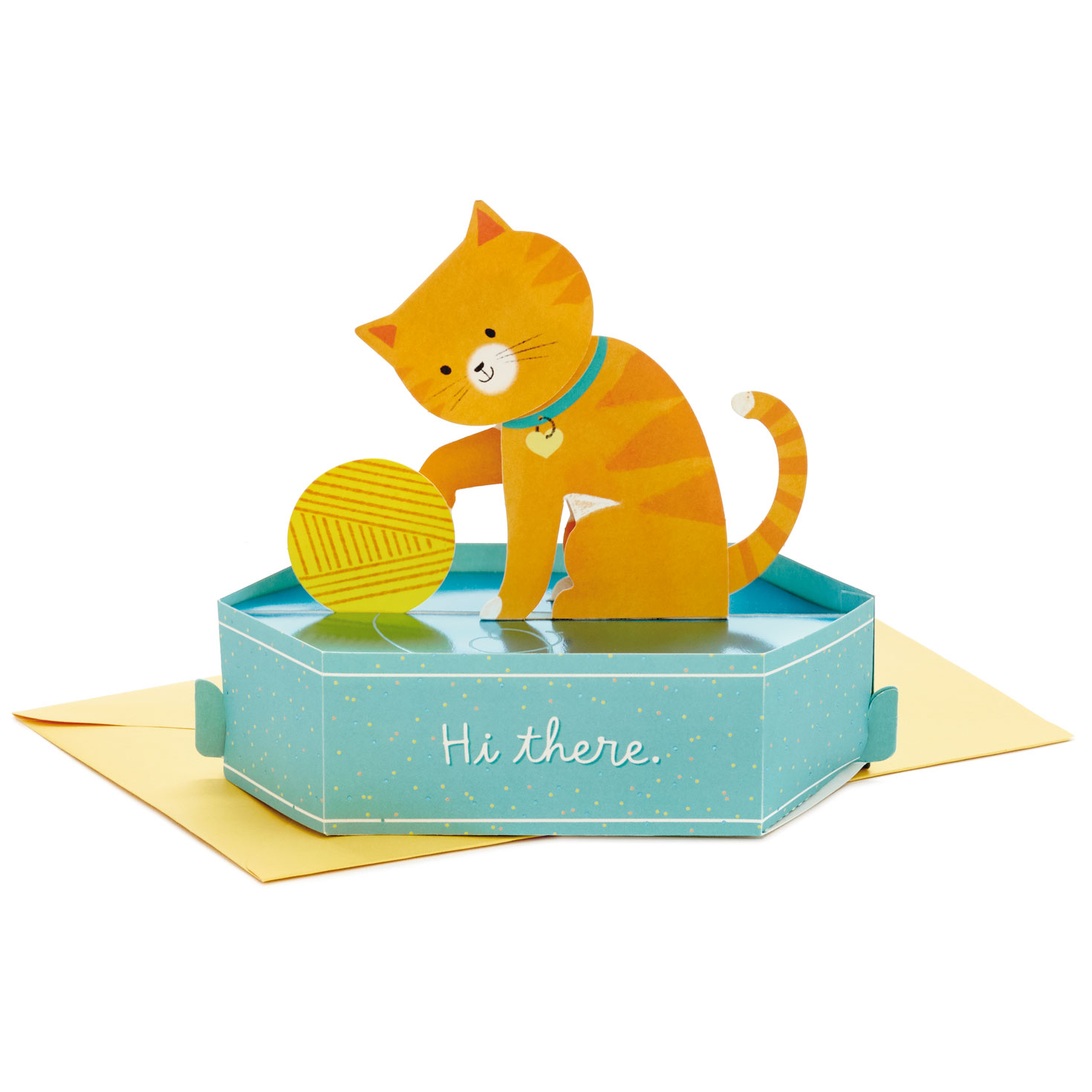 Cat/'s on Couch 3D Pop Up Card Birthday Love Anniversary Pet Greeting Card