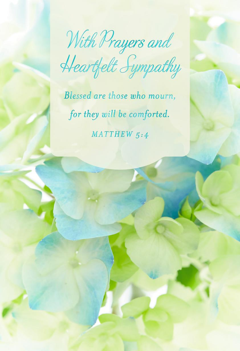 religious sympathy cards  pack of 10 - boxed cards