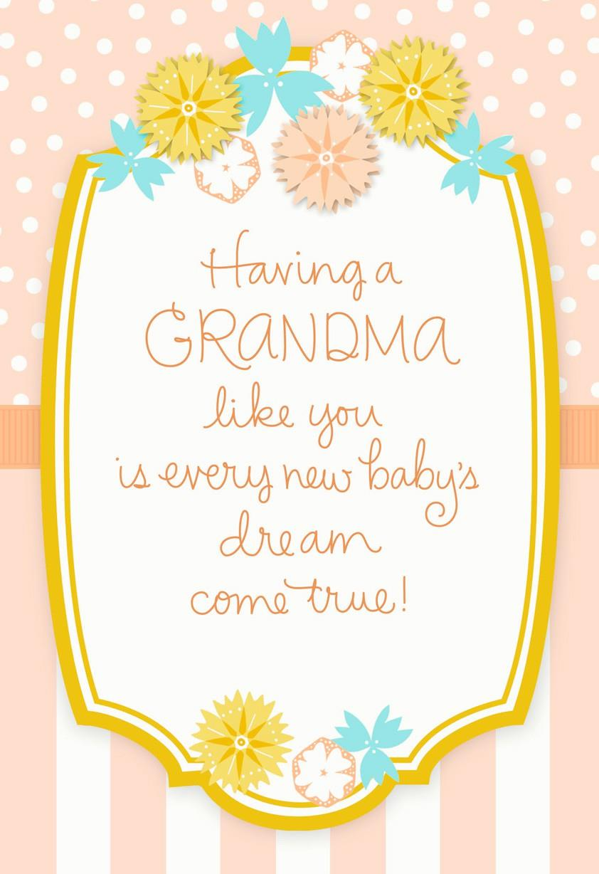 Mothers day card for a proud new grandma greeting cards hallmark mothers day card for a proud new grandma kristyandbryce Images