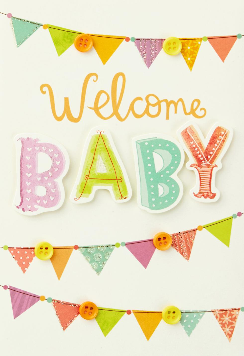 Welcome New Baby Card - Greeting Cards - Hallmark