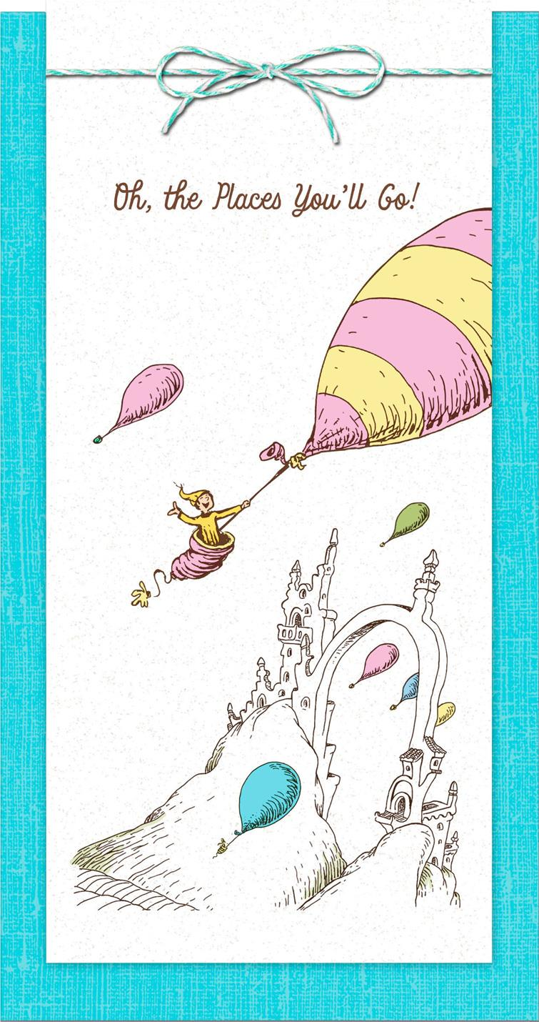 Dr Seuss Oh The Places You Ll Go Money Holder