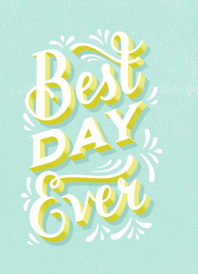 Best day ever birthday card greeting cards hallmark for Best holiday cards ever