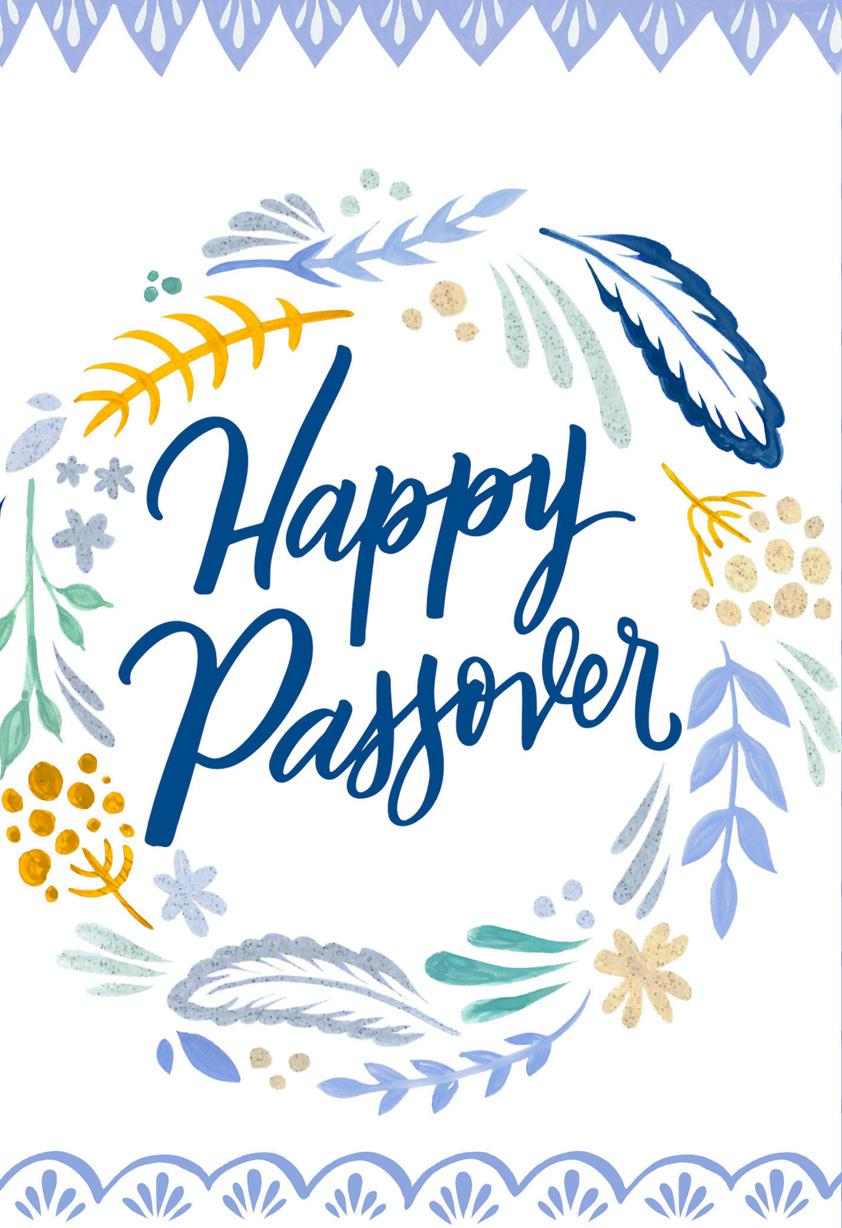 Blessings flower wreath passover card greeting cards hallmark m4hsunfo