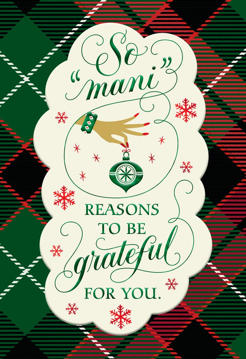 Mani reasons christmas card for service professional greeting mani reasons christmas card for service professional m4hsunfo