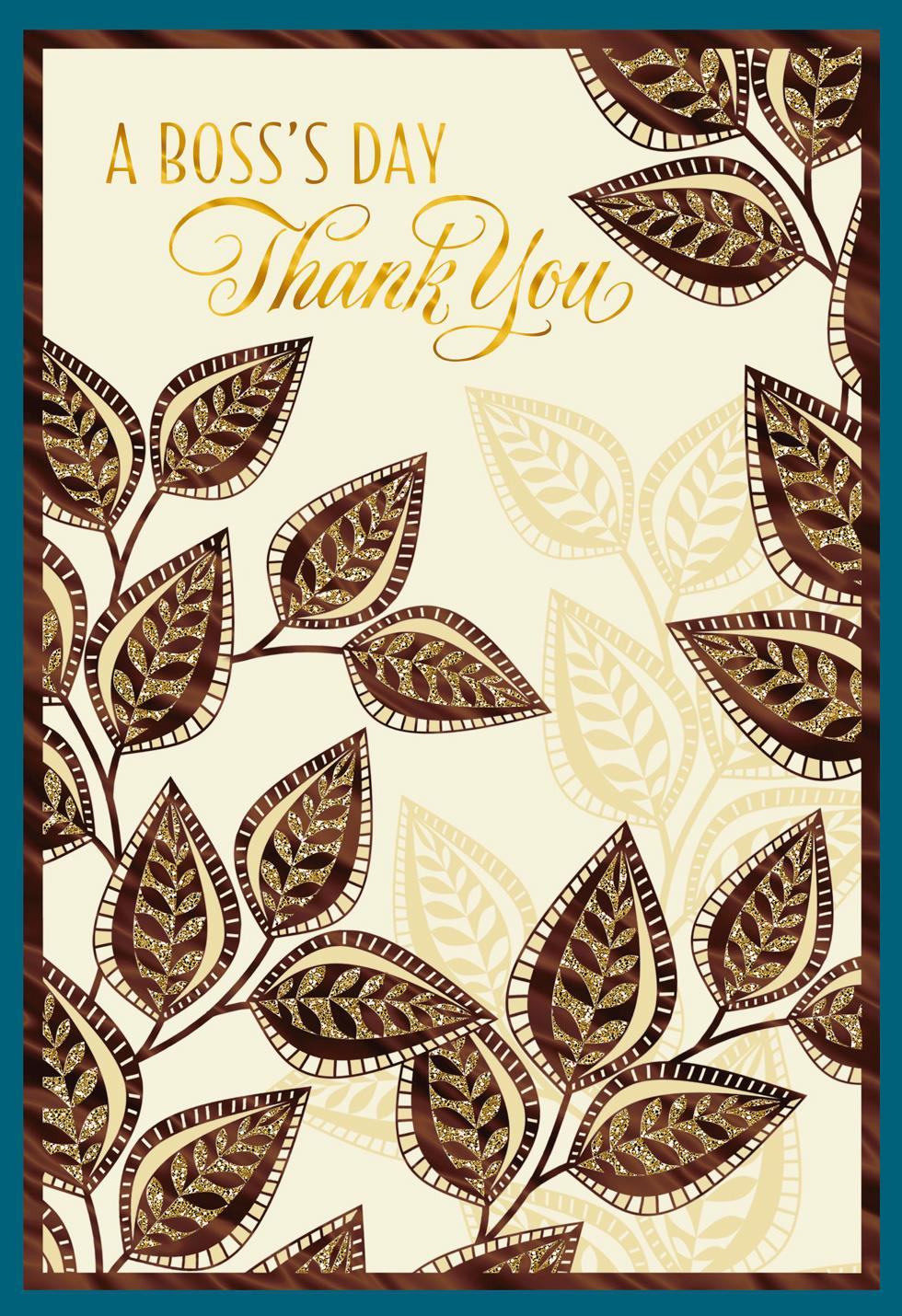 Wishing You The Best National Bosss Day Greeting Cards Hallmark