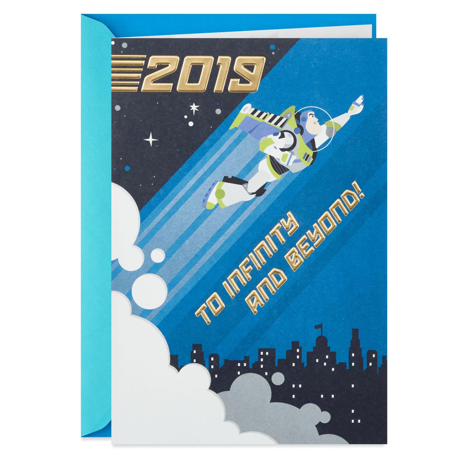 Disney/Pixar Toy Story Buzz Lightyear 2019 Graduation Card
