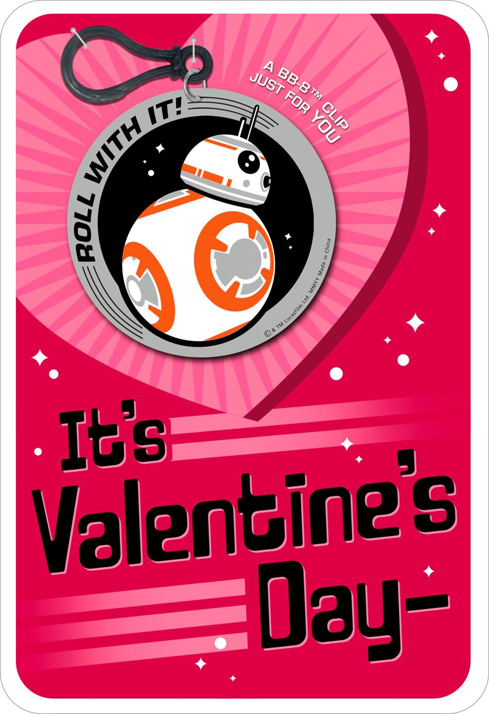 Star Wars Bb 8 Droid Jokes Valentine S Day Card With