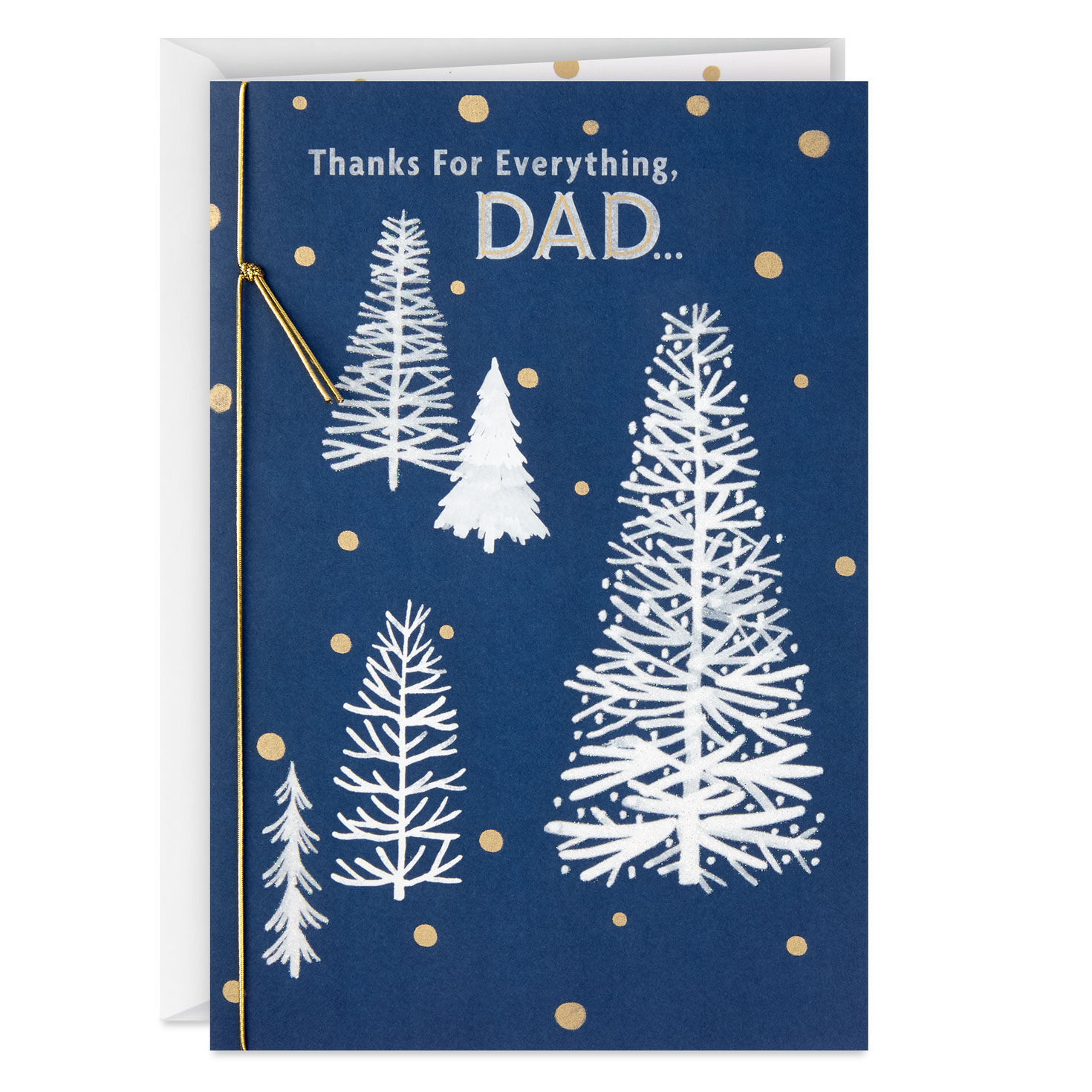thanks for everything dad christmas card  greeting cards
