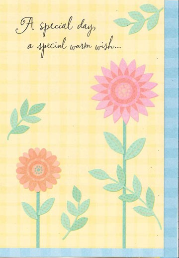 Special flowers for you birthday card greeting cards Hallmark flowers
