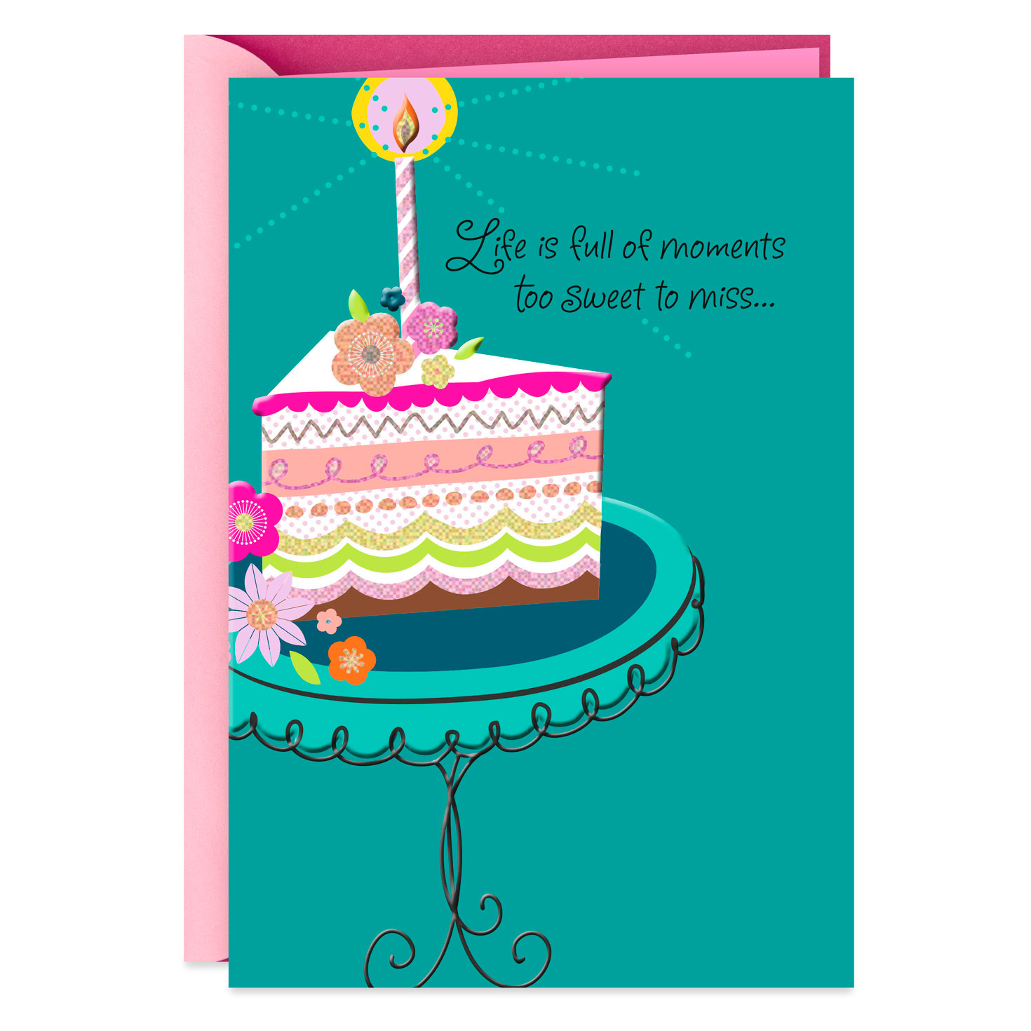 sweet moments friendship birthday card  greeting cards