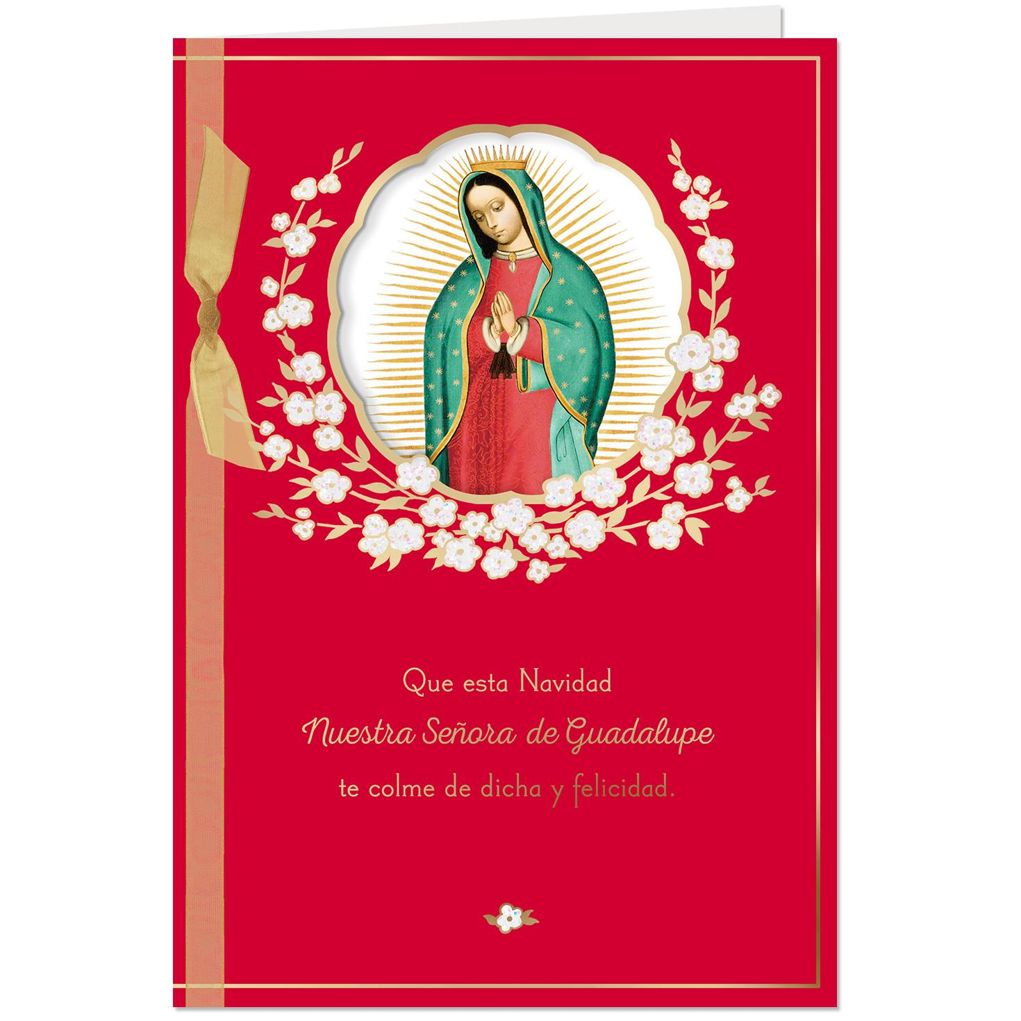 Joy and Happiness Spanish-Language Christmas Card for Mom ...
