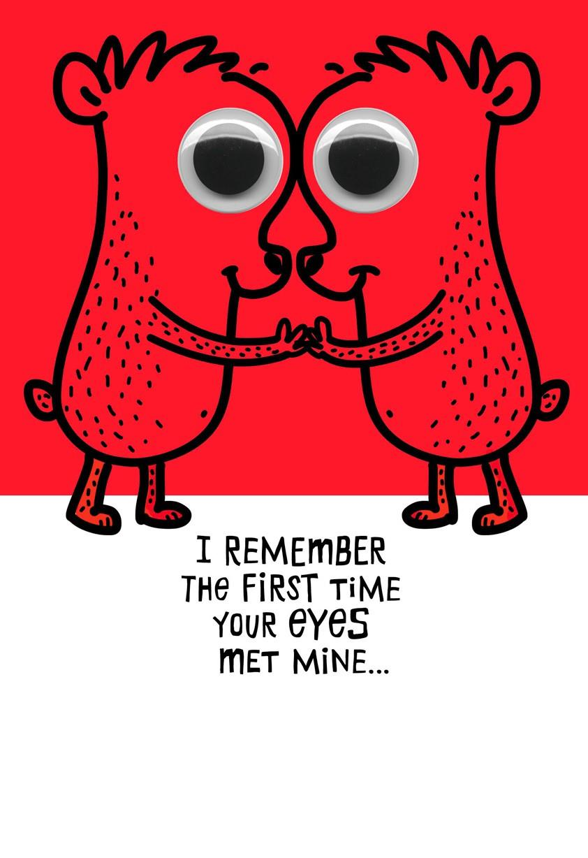 Love At First Sight Funny Sweetest Day Card Greeting Cards Hallmark