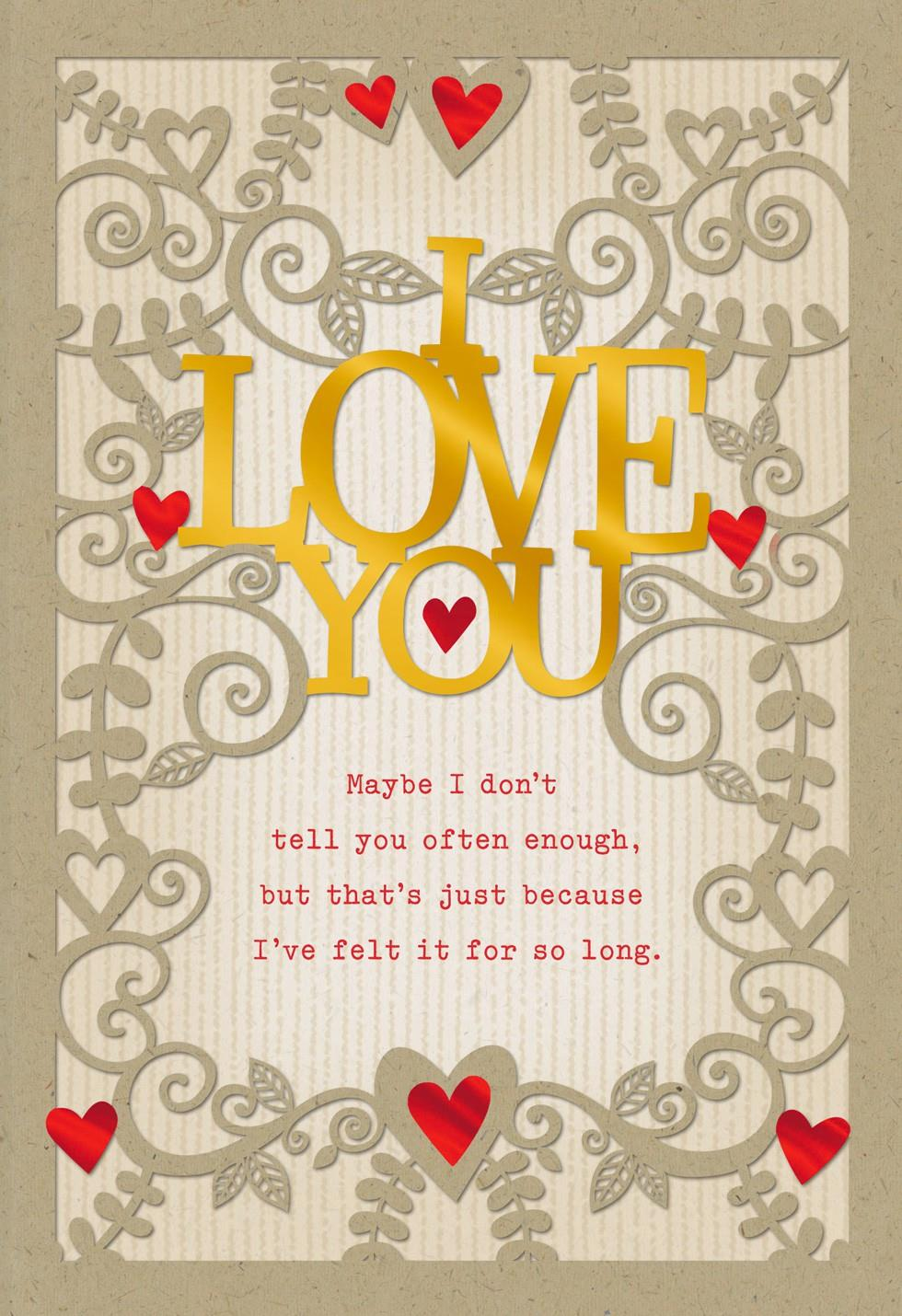Loving You Over The Years Husband Valentines Day Card Greeting