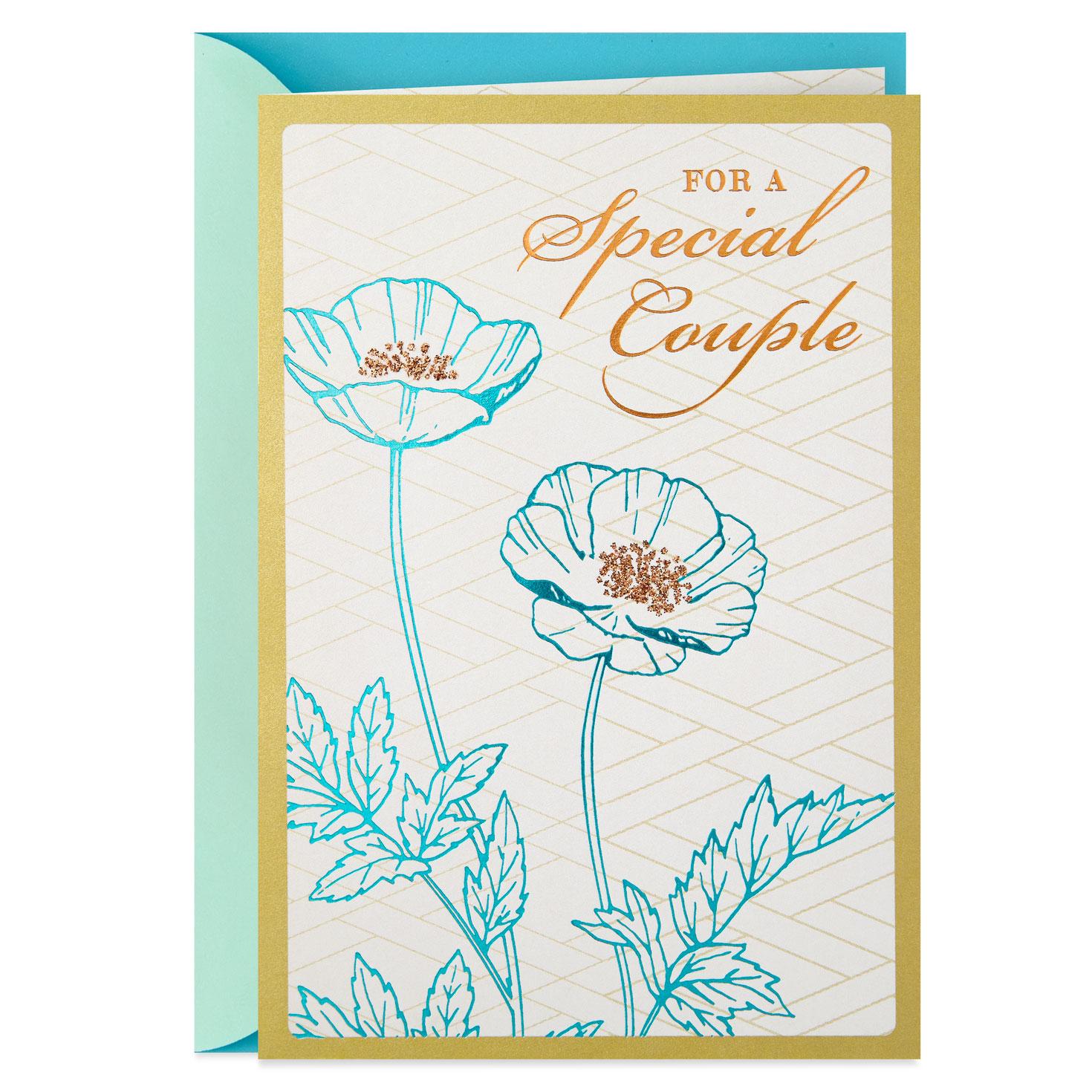 beauty of love anniversary card  greeting cards  hallmark