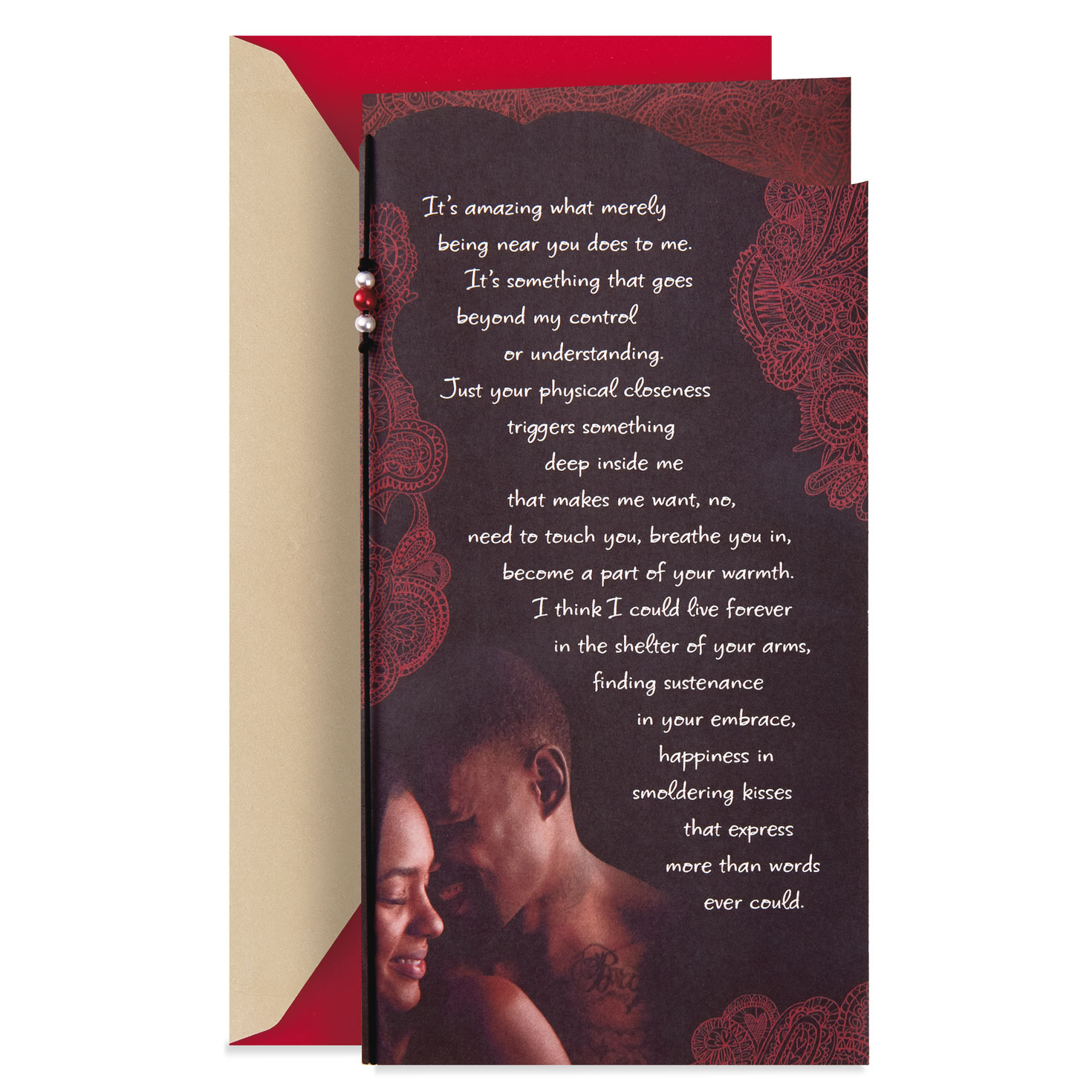 love you forever romantic valentine's day card  greeting
