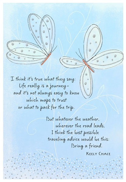 Friend On A Journey Birthday Card Hallmark