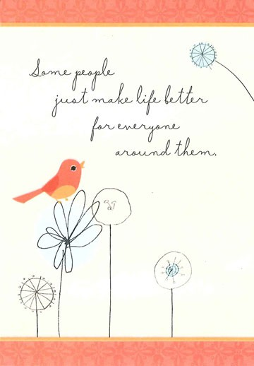 kindhearted friendship card - greeting cards