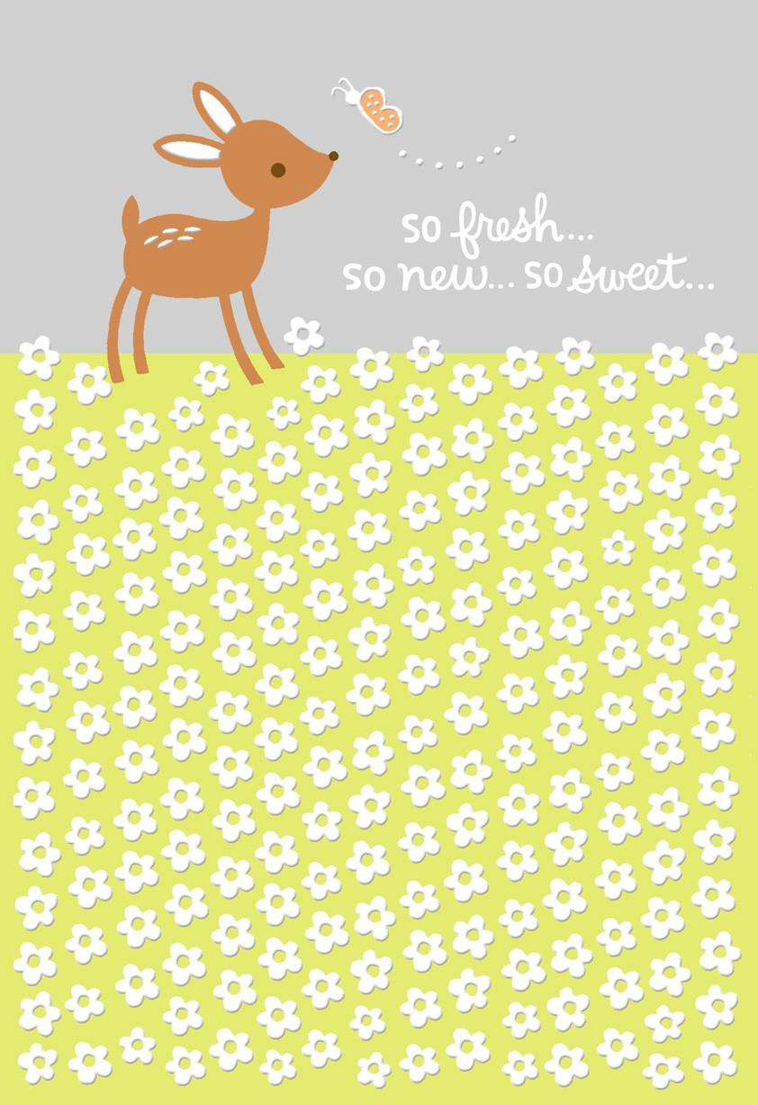 Little deer baby card for great grandparents greeting cards little deer baby card for great grandparents kristyandbryce Choice Image