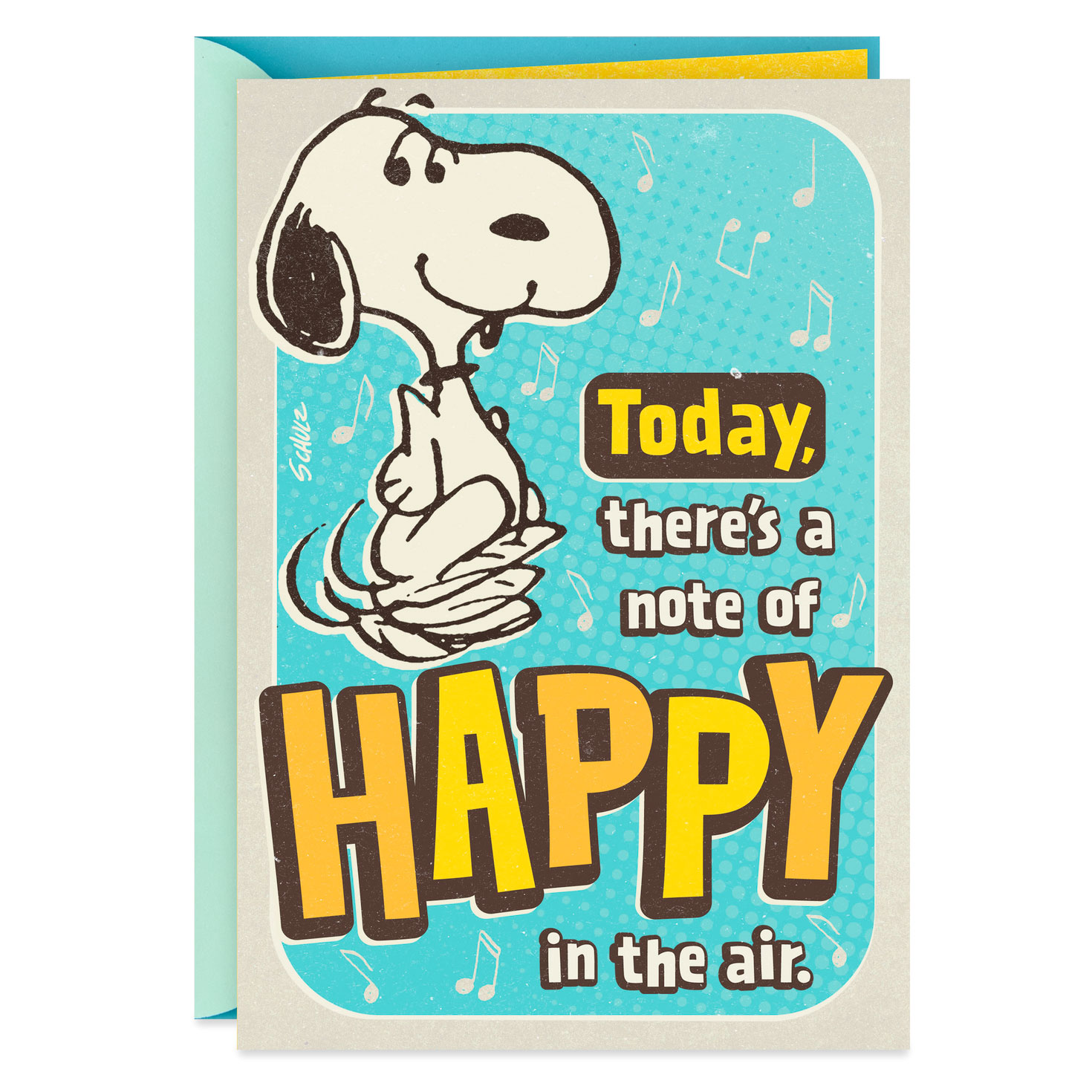 Peanuts® Snoopy Happy Dance Musical Birthday Card