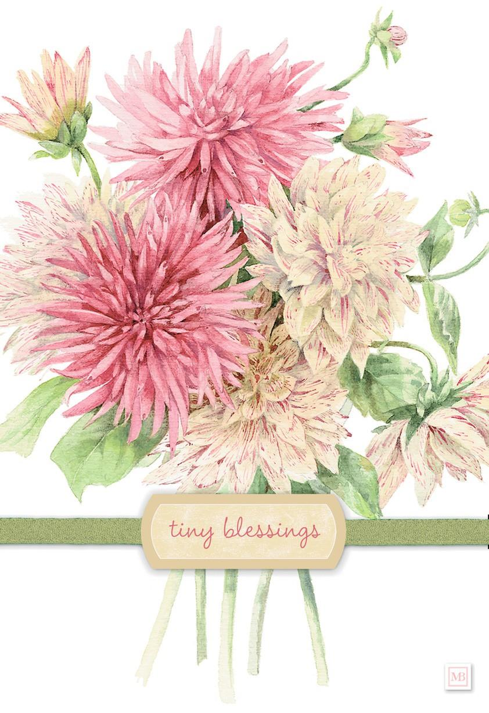 tiny blessings marjolein bastin birthday card greeting cards hallmark