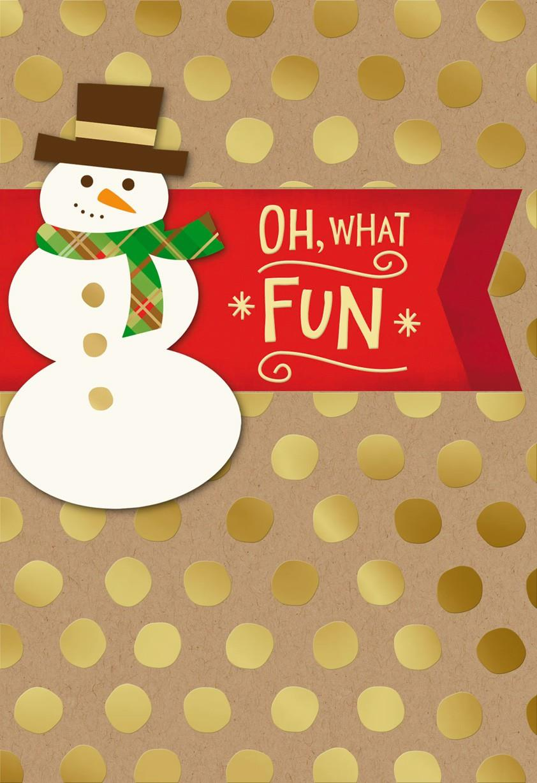Oh What Fun Christmas Card - Greeting Cards - Hallmark