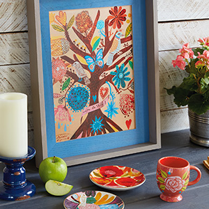 Get bold, beautiful decor with Big Happy Life.