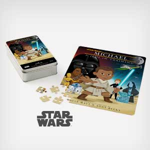 Put someone you love in a personalized puzzle.