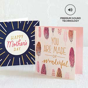 Sing Mom's praises with Anthem song cards.