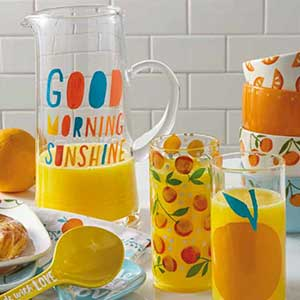 Add sunshine to your mornings with Artsy Kitchen.