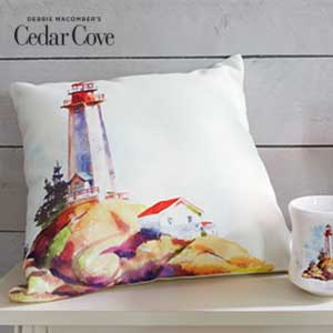 Create a coastal oasis with Cedar Cove.