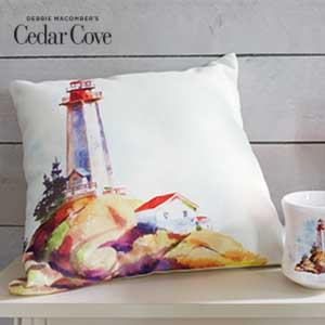 Create a coastal oasis with Cedar Cove.