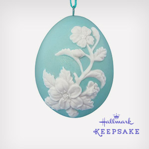 Decorate for Easter with Keepsake Ornaments.